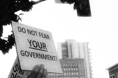 Do Not Fear Your Government