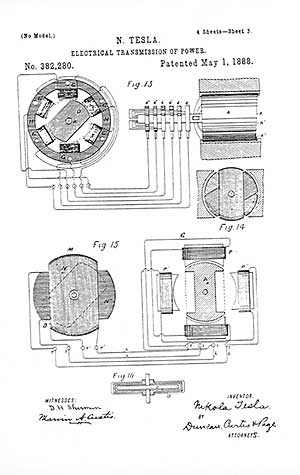 Tesla's Original Magnetic Generator Plans